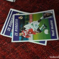 Coleccionismo deportivo: 7 ZE ROBERTO REAL MADRID PANINI 97 98 1997 1998 SIN PEGAR. Lote 258805325