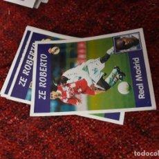 Coleccionismo deportivo: 7 ZE ROBERTO REAL MADRID PANINI 97 98 1997 1998 SIN PEGAR. Lote 258805330