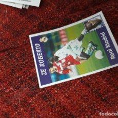 Coleccionismo deportivo: 7 ZE ROBERTO REAL MADRID PANINI 97 98 1997 1998 SIN PEGAR. Lote 258805375