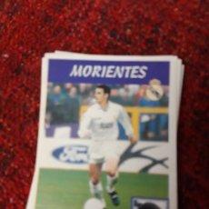 Coleccionismo deportivo: 15A MORIENTES REAL MADRID PANINI 97 98 1997 1998 SIN PEGAR. Lote 258805735