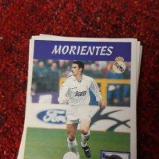 Coleccionismo deportivo: 15A MORIENTES REAL MADRID PANINI 97 98 1997 1998 SIN PEGAR. Lote 258805750