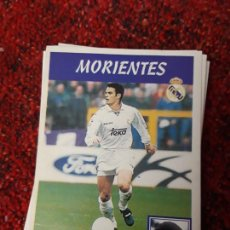 Coleccionismo deportivo: 15A MORIENTES REAL MADRID PANINI 97 98 1997 1998 SIN PEGAR. Lote 258805755