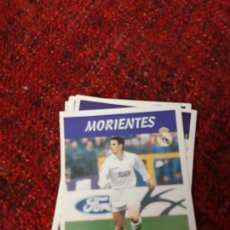 Coleccionismo deportivo: 15A MORIENTES REAL MADRID PANINI 97 98 1997 1998 SIN PEGAR. Lote 258805770