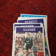 Coleccionismo deportivo: 1 ILLGNER REAL MADRID PANINI 97 98 1997 1998 SIN PEGAR. Lote 258805815