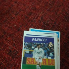 Coleccionismo deportivo: PANUCCI 2 REAL MADRID PANINI 97 98 1997 1998 SIN PEGAR. Lote 258805915