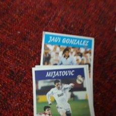 Coleccionismo deportivo: ÁLVARO 11A REAL MADRID PANINI 97 98 1997 1998 SIN PEGAR. Lote 258806125