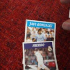 Coleccionismo deportivo: HIERRO 3 REAL MADRID PANINI 97 98 1997 1998 SIN PEGAR. Lote 258806140