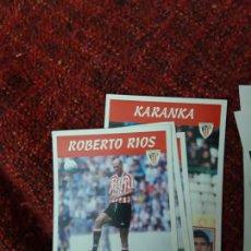 Coleccionismo deportivo: 86 ROBERTO RIOS ATHLETIC DE BILBAO PANINI 97 98 1997 1998 SIN PEGAR. Lote 258807435