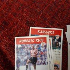 Coleccionismo deportivo: 86 ROBERTO RIOS ATHLETIC DE BILBAO PANINI 97 98 1997 1998 SIN PEGAR. Lote 258807450