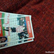 Coleccionismo deportivo: 84 KARANKA ATHLETIC DE BILBAO PANINI 97 98 1997 1998 SIN PEGAR. Lote 258807490