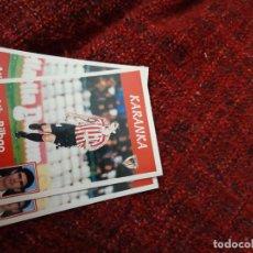 Coleccionismo deportivo: 84 KARANKA ATHLETIC DE BILBAO PANINI 97 98 1997 1998 SIN PEGAR. Lote 258807510