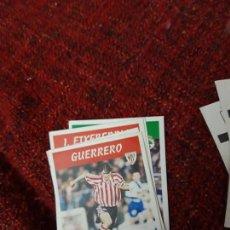 Coleccionismo deportivo: 92 GUERRERO ATHLETIC DE BILBAO PANINI 97 98 1997 1998 SIN PEGAR. Lote 258808040