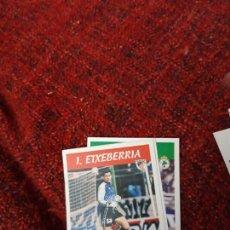 Coleccionismo deportivo: 81 ETXBERRIA ATHLETIC DE BILBAO PANINI 97 98 1997 1998 SIN PEGAR. Lote 258808110