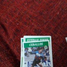Coleccionismo deportivo: RACING DE SANTANDER 193 CEBALLOS PANINI 97 98 1997 1998 SIN PEGAR. Lote 258808320