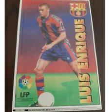 Coleccionismo deportivo: LÁMINA LUIS ENRIQUE, CHICLE LIGA ESTRELLAS 1996-97. Lote 260885790
