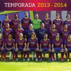 Coleccionismo deportivo: FC BARCELONA - TEMPORADA 2013-14 (33 POSTALES). Lote 261152690
