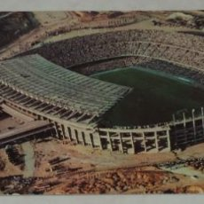 Coleccionismo deportivo: FOTO POSTAL DE BARCELONA, VISTA AEREA DEL ESTADIO DEL C. DE F. BARCELONA, POSTAL DOBLE, SERIE III, N. Lote 261163150