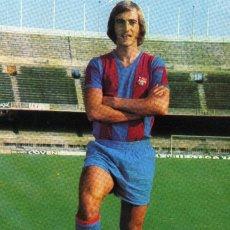 Coleccionismo deportivo: FC BARCELONA - JOHAN NEESKENS. Lote 261660310