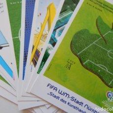 Coleccionismo deportivo: 12 TARJETAS FIFA FUSSBALL-WELTMEISTERSCHAFT DEUTSCHLAND 2006 / WM-STADT DORTMUND - KAISERSLAUTERN.... Lote 261190215