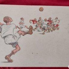 Coleccionismo deportivo: POSTAL FUTBOL B.K.W.I. 279-4 AÑO 1923. Lote 261826280