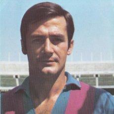 Collezionismo sportivo: POSTAL FICHA TÉCNICA ANTONIO TORRES GARCIA FC BARCELONA 1973 PUBLICIDAD WILLIAMS. Lote 263205415