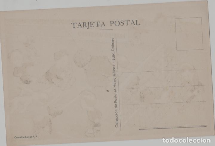 Coleccionismo deportivo: LOTE B-POSTAL TEMA FUFBOL AÑOS 40 - Foto 2 - 265348179