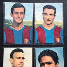 Coleccionismo deportivo: 4 POSTALES / C. FUTBOL BARCELONA / OSCARCOLOR / FUSTE - BENITEZ - RIFÉ - TORRES / SIN USAR. Lote 266136308