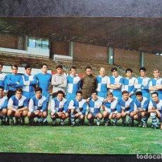 Colecionismo desportivo: BARCELONA C. D. SABADELL PLANTILLA TEMPORADA 1968-69 FOTO MERIDIANO ED. OSCAR COLOR Nº 195 AÑO 1968. Lote 267490214