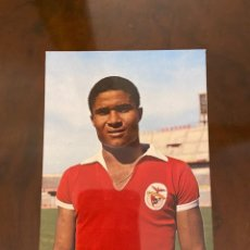 Coleccionismo deportivo: POSTAL DE EUSEBIO REY DEL MUNDIAL DE 1966 NUEVA. Lote 268456134