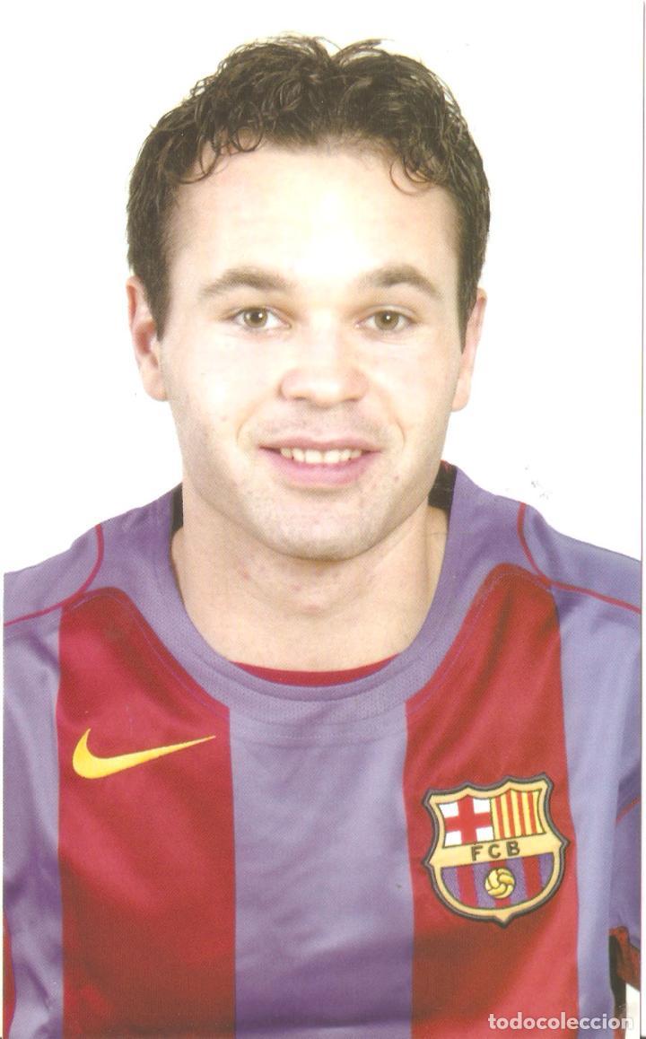 BARÇA. INIESTA. FUTBOL CLUB BARCELONA. ED. JOSMA SPORT . 1997.-VELL I BELL (Coleccionismo Deportivo - Postales de Deportes - Fútbol)