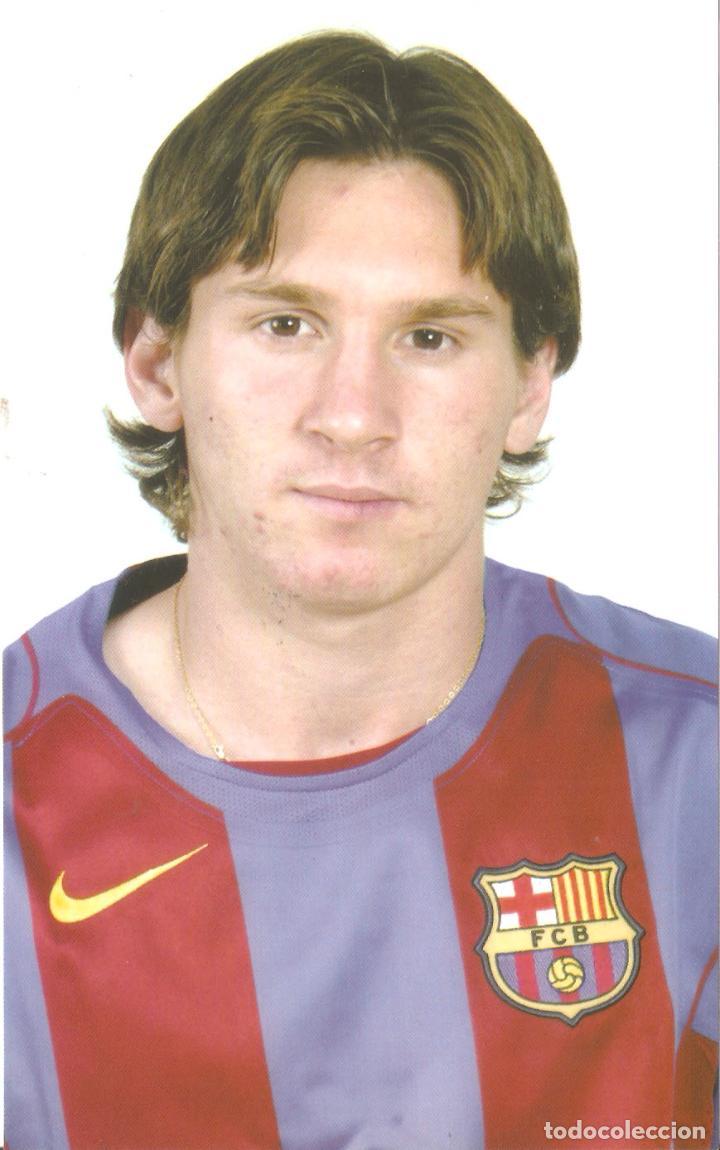 BARÇA.MESSI. FUTBOL CLUB BARCELONA. ED. JOSMA SPORT . 1997.-VELL I BELL (Coleccionismo Deportivo - Postales de Deportes - Fútbol)