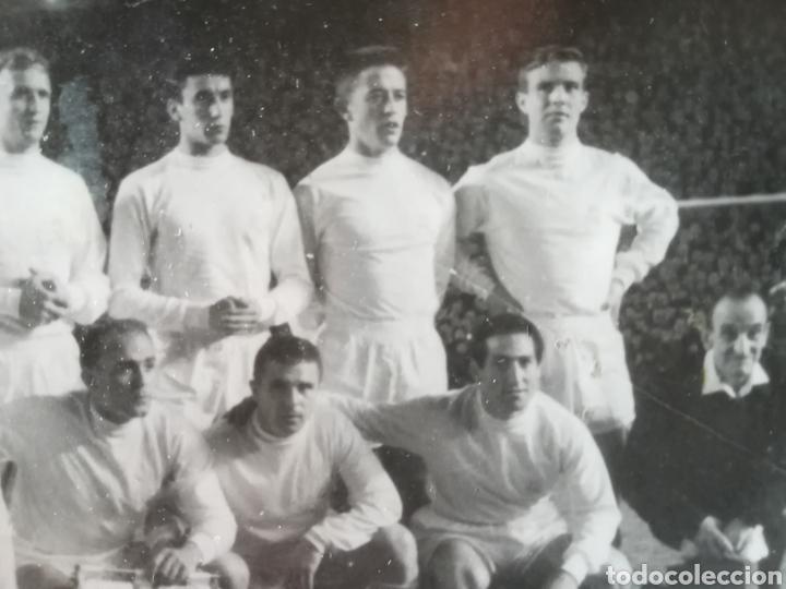 Coleccionismo deportivo: EQUIPO FÚTBOL REAL MADRID AÑOS 60 DI STEFANO PUSKAS GENTO - Foto 3 - 268960564