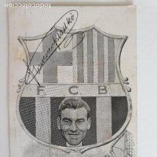 Coleccionismo deportivo: FRANCISCO / FERENC PLATTKÓ KOPILETZ - FUTBOL CLUB BARCELONA - P-51941. Lote 269083738