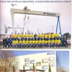 Coleccionismo deportivo: LOTE 2 POSTALES CÁDIZ CF (MASCULINO Y FEMENINO) TEMP. 20/21 2020/21. Lote 269258483
