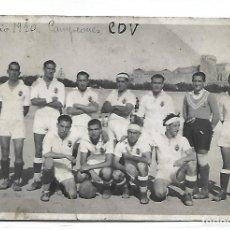 Coleccionismo deportivo: (PS-65729)POSTAL FOTOGRAFICA C.D.VALLS-CPARTIDO CONTRA EL TARRAGONA CAMPEON 15-6-1940. Lote 269454268
