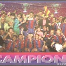 Coleccionismo deportivo: BARÇA EQUIPO FCB CAMPIONS. FUTBOL CLUB BARCELONA.- VELL I BELL. Lote 270954888