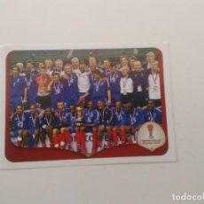 Coleccionismo deportivo: 268 EQUIPO SELECCIÓN FRANCIA 2003 COPA CONFEDERACIONES RUSIA 2017 CROMO STICKER FÚTBOL PANINI. Lote 270956608