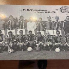 Coleccionismo deportivo: P.S.V. EINDHOVEN 1969 70. Lote 271072483