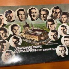 Coleccionismo deportivo: 1 CAMPIONI DEL TORINO 4 DE MAYO 1949. Lote 271087908
