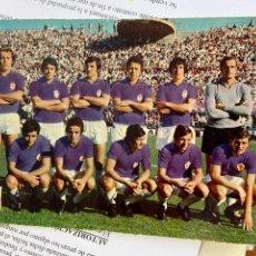 Coleccionismo deportivo: A.C. FIORENTINA CAMPEONATO 1970 1971 BUEN ESTADO. Lote 271091653
