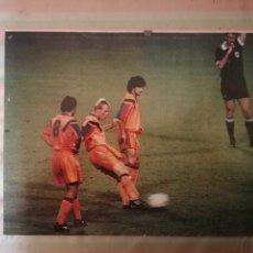 Coleccionismo deportivo: FOTO LAMINA BARCA BARCELONA DREAM TEAM FALTA KOEMAN BAKERO COPA DE EUROPA 1992. Lote 273739668