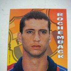 Colecionismo desportivo: POSTAL DEL F.C. BARCELONA DE ROCHEMBACK -(&). Lote 275989018