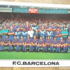 Colecionismo desportivo: F.C. BARCELONA - PLANTILLA 1990 1991. Lote 275999328