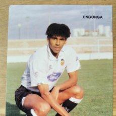 Colecionismo desportivo: VALENCIA, C.F. - VICENTE ENGONGA - ADIDAS. Lote 276003603