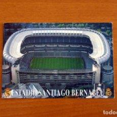 Coleccionismo deportivo: REAL MADRID - ESTADIO SANTIAGO BERNABEU, AÑO 1995 - FOTO POSTAL TAMAÑO 16X11 CM.. Lote 276666598