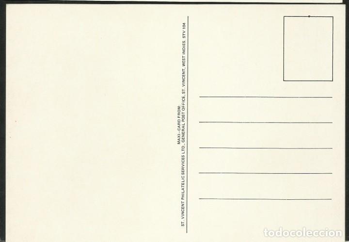 Coleccionismo deportivo: SAN VICENTE 1986 POSTAL DE GRAN TAMAÑO PRIMER DIA CIRCULACION FDC COPA MUNDIAL FUTBOL FIFA MEXICO 86 - Foto 2 - 277041448