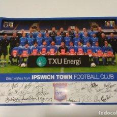 Coleccionismo deportivo: POSTAL IPSWICH TOWN FOOTBALL CLUB.. Lote 277502318