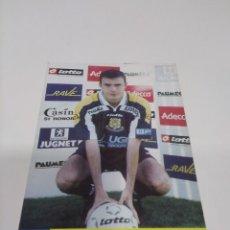 Coleccionismo deportivo: POSTAL JEAN-FRANÇOIS SUCHET - F.C. GUEUGNON.. Lote 277576933