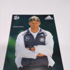 Coleccionismo deportivo: POSTAL MICHAEL SKIBBE - SELECCIÓN ALEMANA.. Lote 277584813