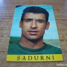 Coleccionismo deportivo: POSTAL F C BARCELONA SADURNI. Lote 277684713
